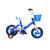 Quà tặng: Xe đạp 3 bánh vinatoy  cho bé màu xanh APTAMIL