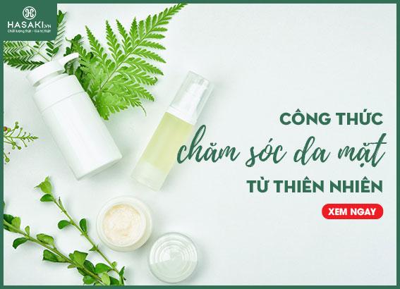 Công thức chăm sóc da mặt từ thiên nhiên
