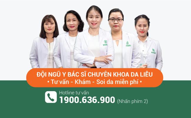 Khám da miễn phí, điều trị da chuẩn y khoa. Mừng khai trương giảm 40%