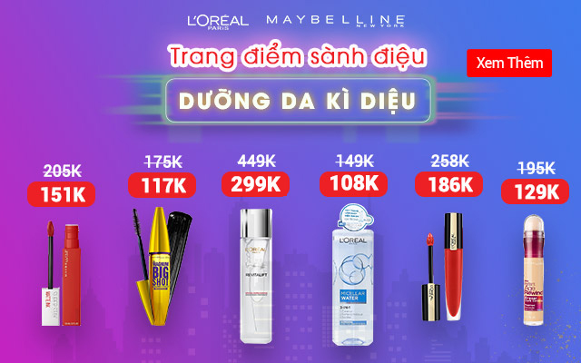 loreal-maybelline-sale