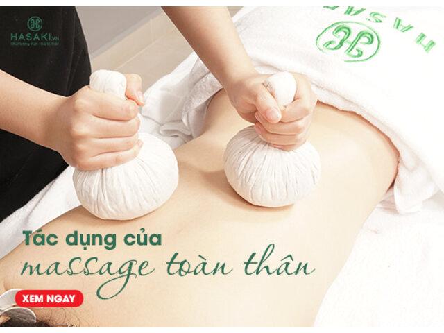 Tác Dụng Của Massage Toàn Thân Đối Với Nhan Sắc Và Sức Khỏe