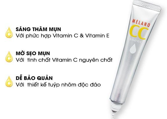 Review CC Melano: Serum Vitamin C Melano CC Rohto Tốt Không?