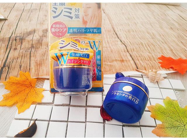 Review kem dưỡng Meishoku Placenta Medicated Whitening Essence Cream tốt không?