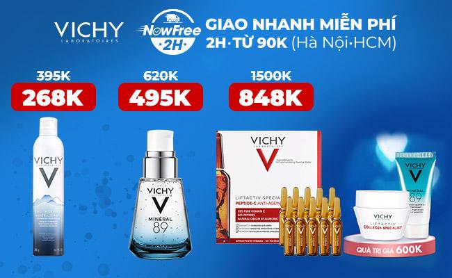 Hasaki - Sản phẩm chính hãng của Vichy