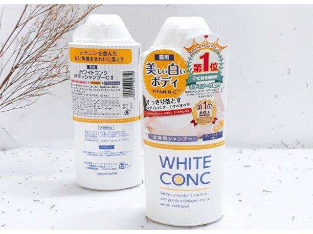Review Sữa Tắm White Conc: Sữa Tắm Hỗ Trợ Làm Sáng Da Từ Nhật Bản