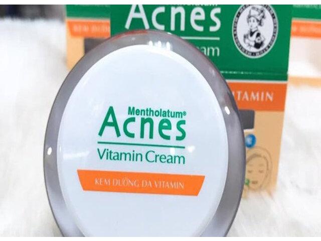 Review kem dưỡng Acnes Vitamin Cream có tốt không?