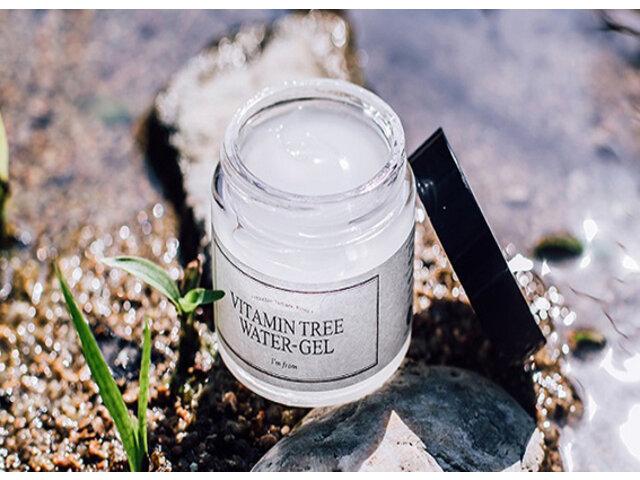 Cách sử dụng Vitamin Tree Water Gel cấp ẩm da
