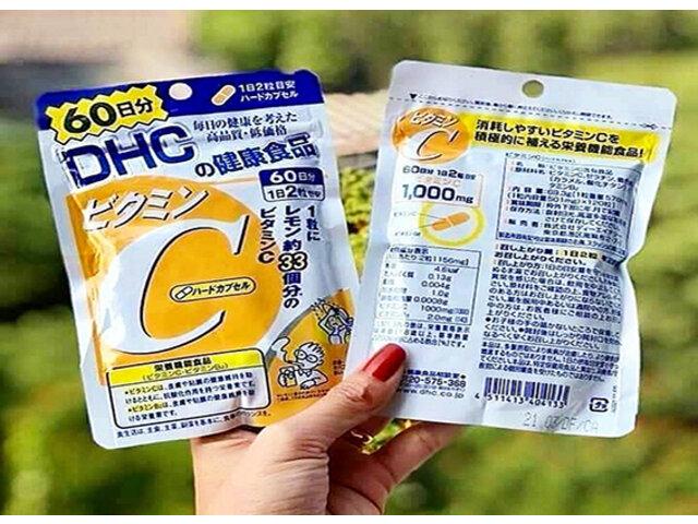 Review viên uống DHC vitamin C từ A - Z