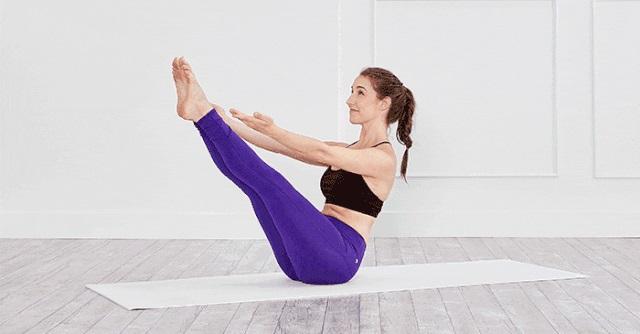 bài tập yoga giảm mỡ bụng dưới cho nữ
