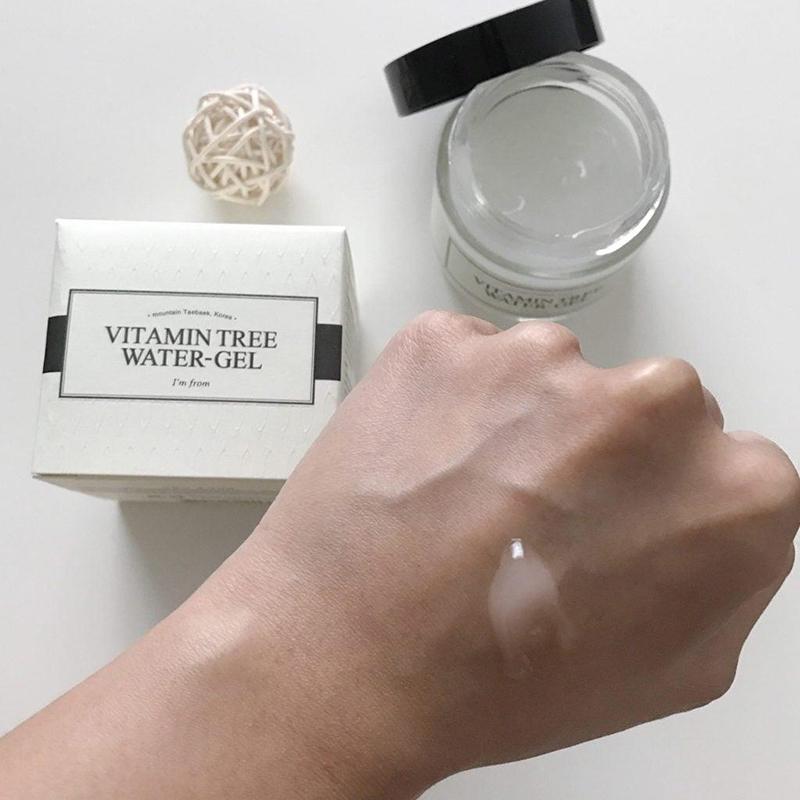 cách sử dụng Vitamin Tree Water Gel dưỡng ẩm da