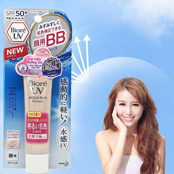 Biore UV Aquarich Watery BB Essence SPF 50+ PA+++
