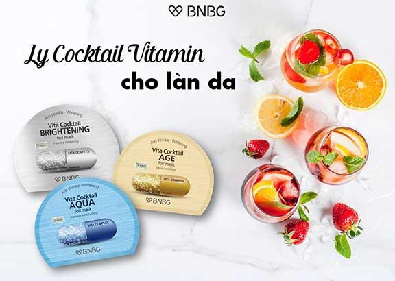 BNBG hiện nay có 2 dòng mặt nạ chính là Vita Genic và Vita Cocktail.