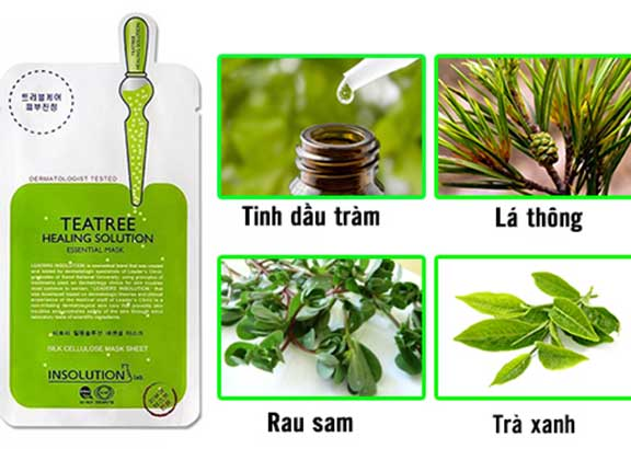 Mặt Nạ Giấy Mediheal Tea Tree Healing Solution