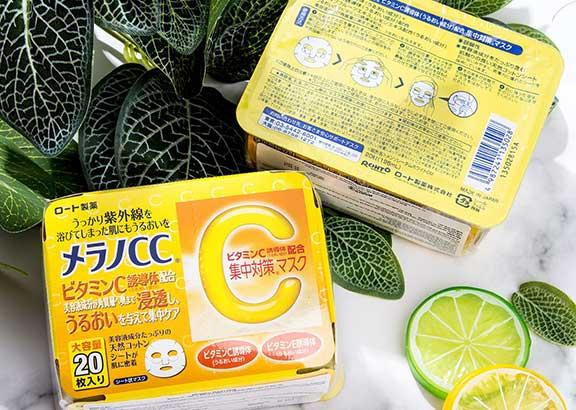 Mặt nạ CCMelano vitamin C
