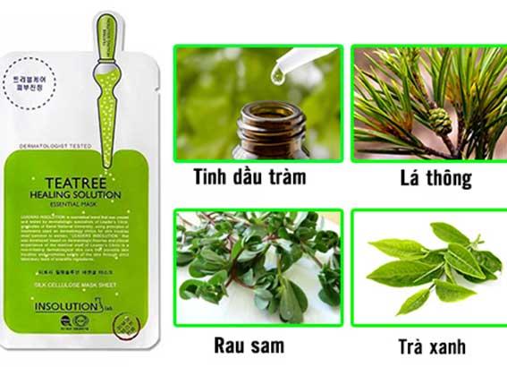 Mặt nạ Mediheal Tea Tree Care Solution