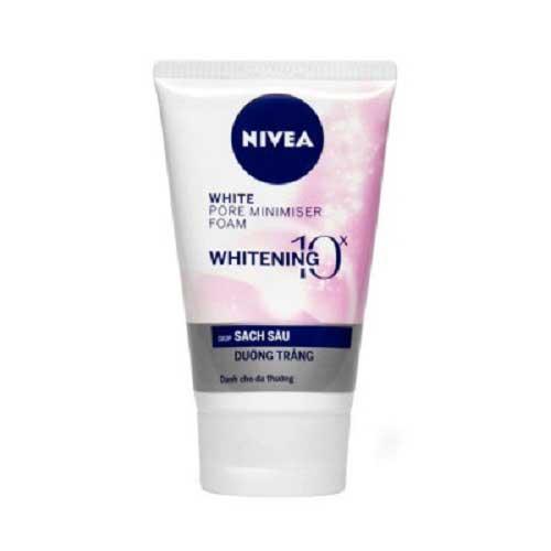 Sữa rửa mặt tạo bọt NIVEA làm sạch sâu