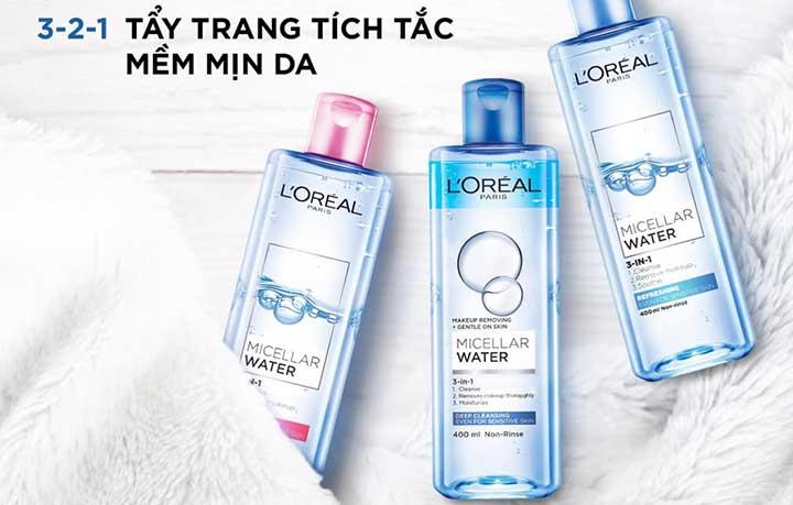 L'OREAL là thương hiệu mỹ phẩm nổi tiếng đến từ Pháp