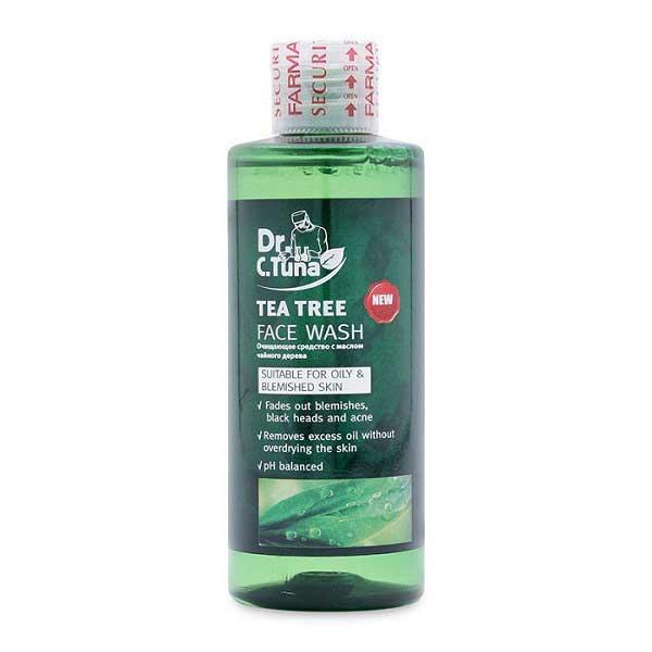 Gel rửa mặt Tea Tree Farmasi cho da dầu mụn