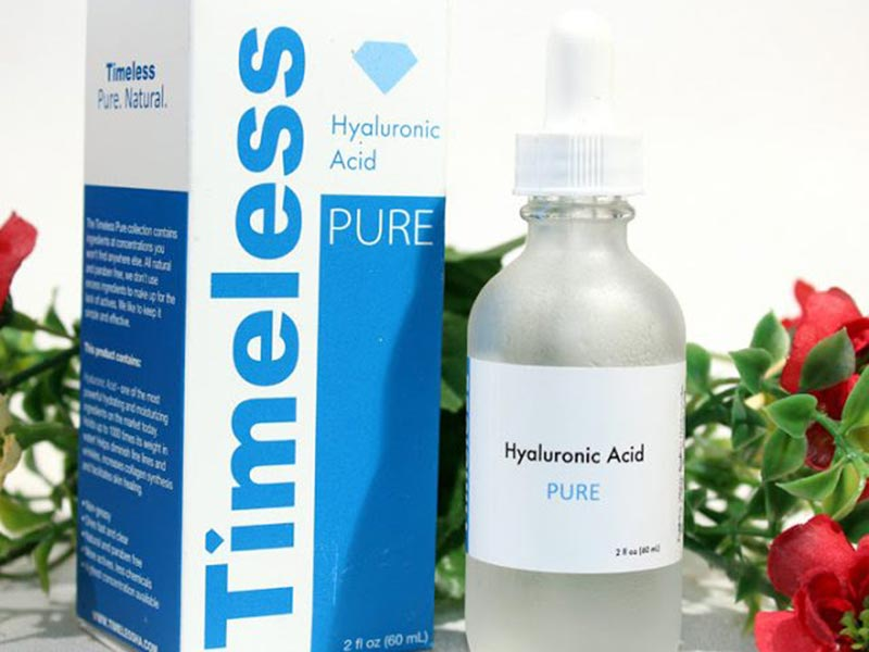 Serum Dưỡng Ẩm Da Mặt Timeless Hyaluronic Acid Serum