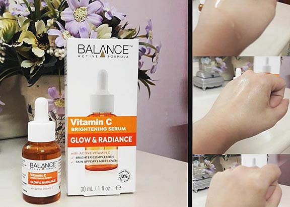 Balance Active Formula Vitamin C Brightening Serum Glow & Radiance