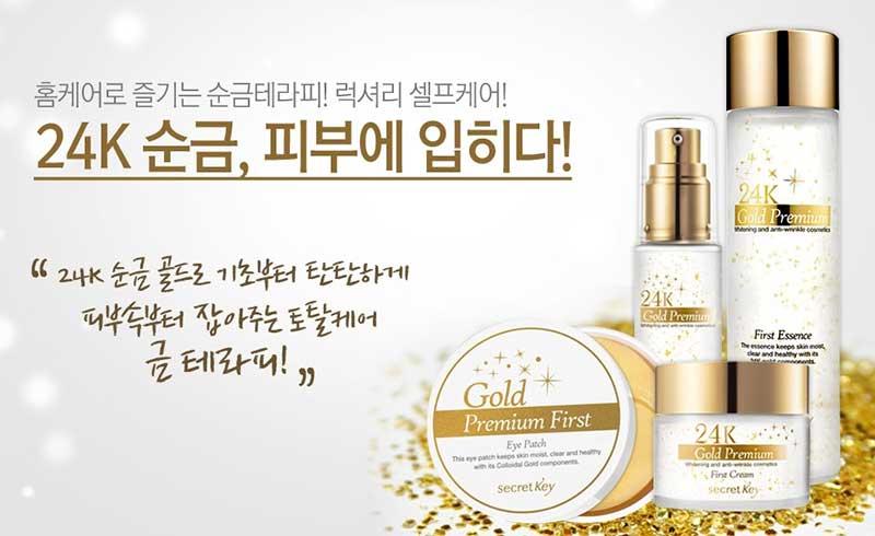 Secret Key 24k Gold Premium First Serum