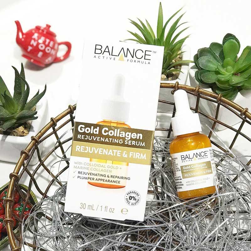 Balance Active Formula Gold Collagen Rejuvenating Serum