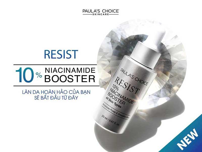 Paula's Choice Làm Se Lỗ Chân Lông Và Săn Chắc Da Resist 10% Niacinamide Booster