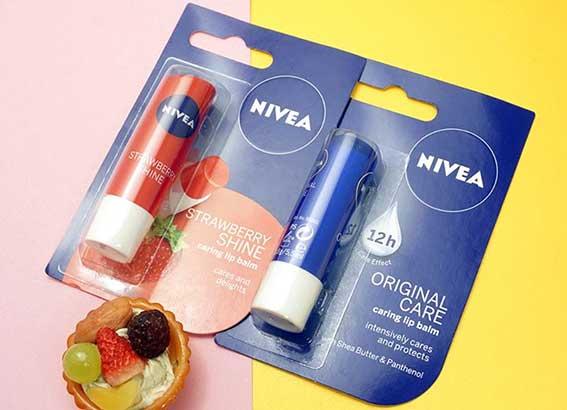 Các dòng son dưỡng của Nivea
