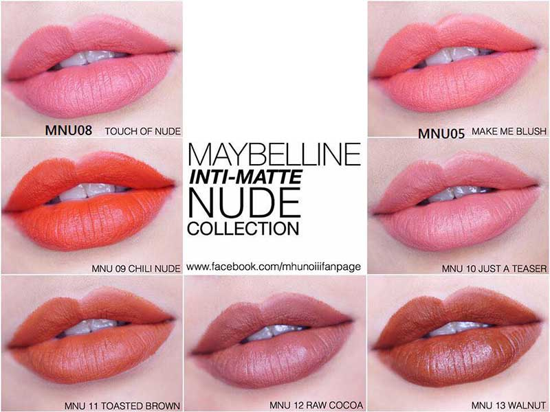 Son MAYBELLINE Color Show
