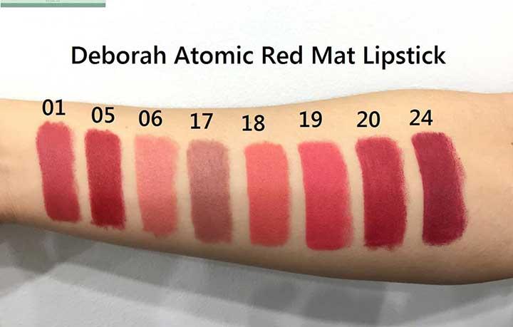 DEBORAH MILANO Atomic Red Mat