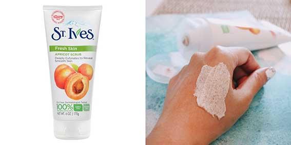 Sữa Rửa Mặt Tẩy Tế Bào Chết Quả Mơ St.Ives 170g Fresh Skin Apricot Scrub