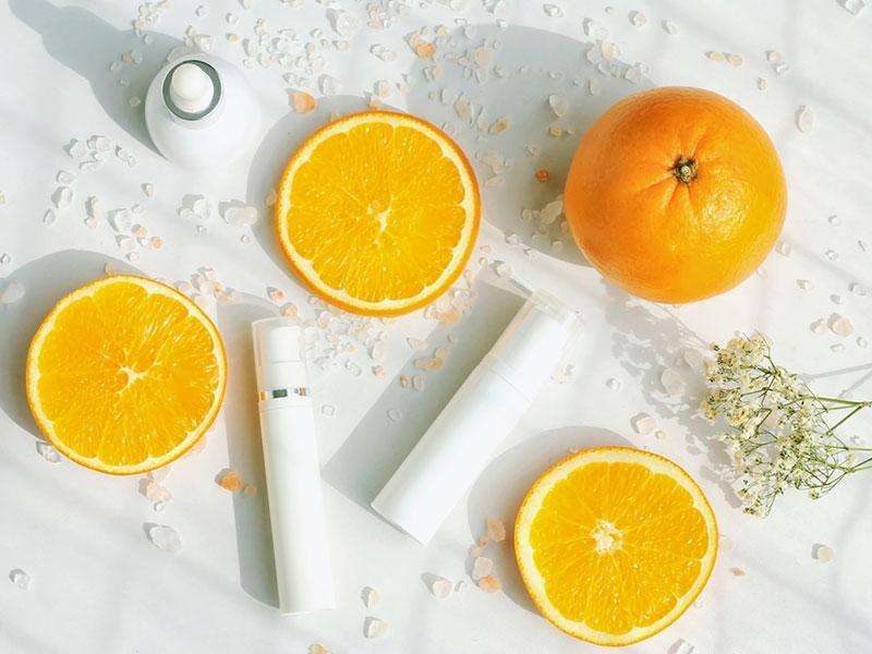Dưỡng sáng da tự nhiên với vitamin C từ trái cây