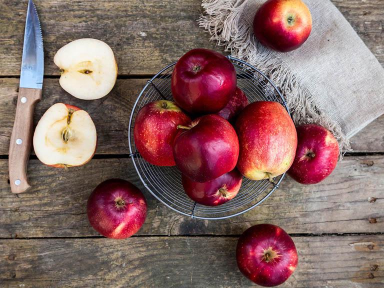 Giảm béo bằng táo tốt không