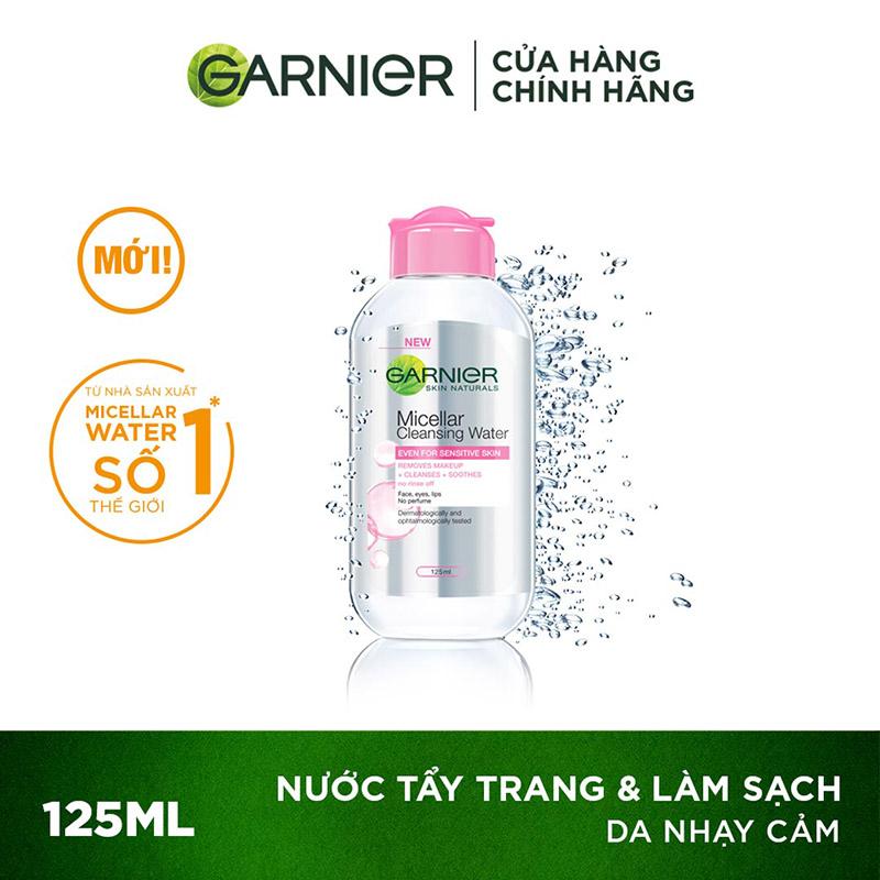 Review nước tẩy trang Garnier cho từng loại da