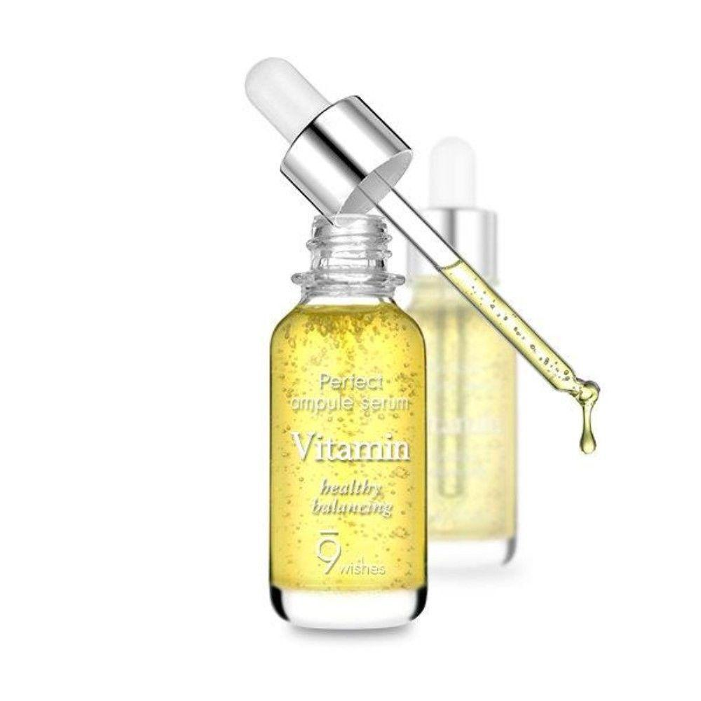 Review Serum 9Wishes Ampule chi tiết nhất