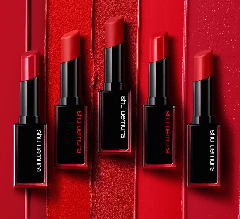 Review son lì SHU UEMURA Rouge Unlimited Lipstick 4