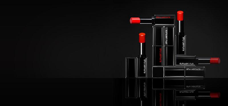 Review son lì SHU UEMURA Rouge Unlimited Lipstick 2