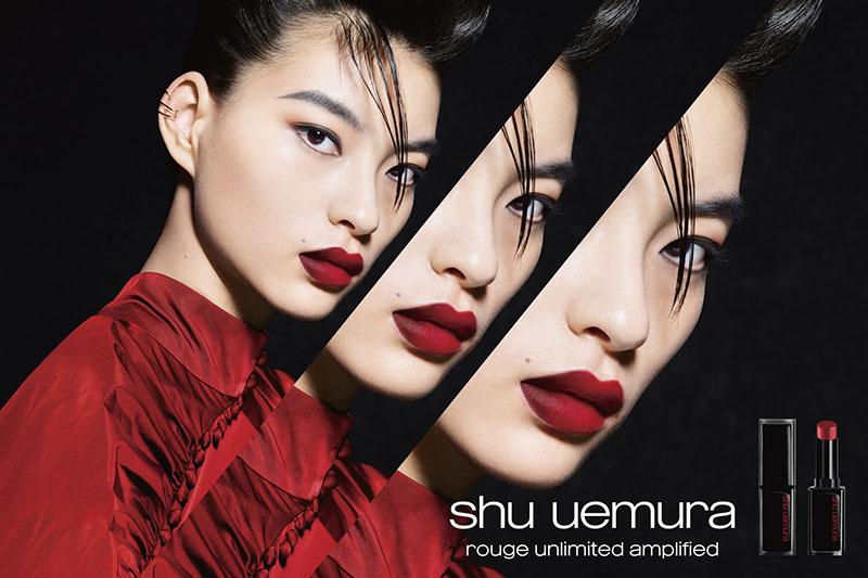 Review son lì SHU UEMURA Rouge Unlimited Lipstick 1