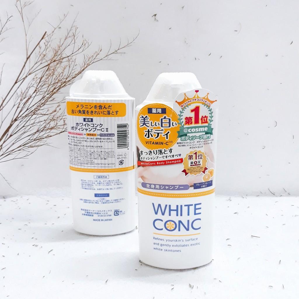 Review Sữa Tắm White Conc Chi tiết
