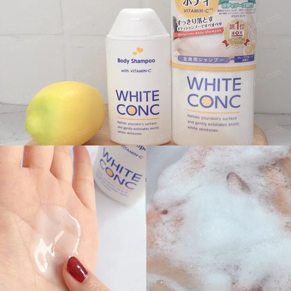 Sữa Tắm White Conc Review