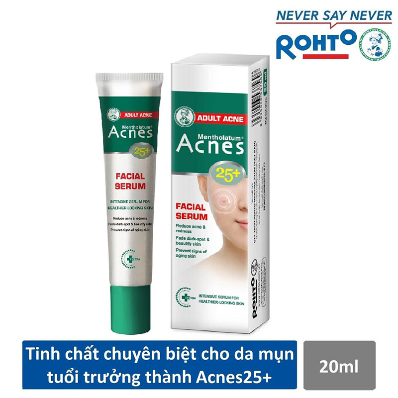 Serum Acnes Trị Mụn: Acnes 25 Facial Serum Có Tốt Không? | monmientrung.com