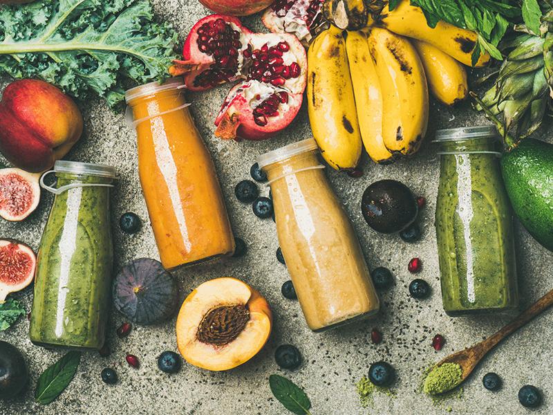 """Sinh tố detox """"healthy và balance"""" cho những ngày chán ăn."""