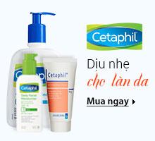Cetaphil Dịu nhẹ cho làn da
