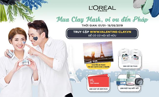Mua Clay Mask, vi vu đến Pháp