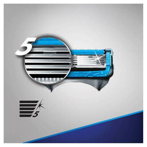 Lưỡi Dao Cạo Râu Fusion Proshield Chill Gillette