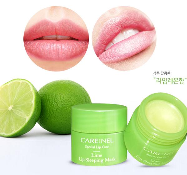 Mặt Nạ Ngủ Môi CARE:NEL Hương Chanh #Lime hiện đã có mặt tại Hasaki