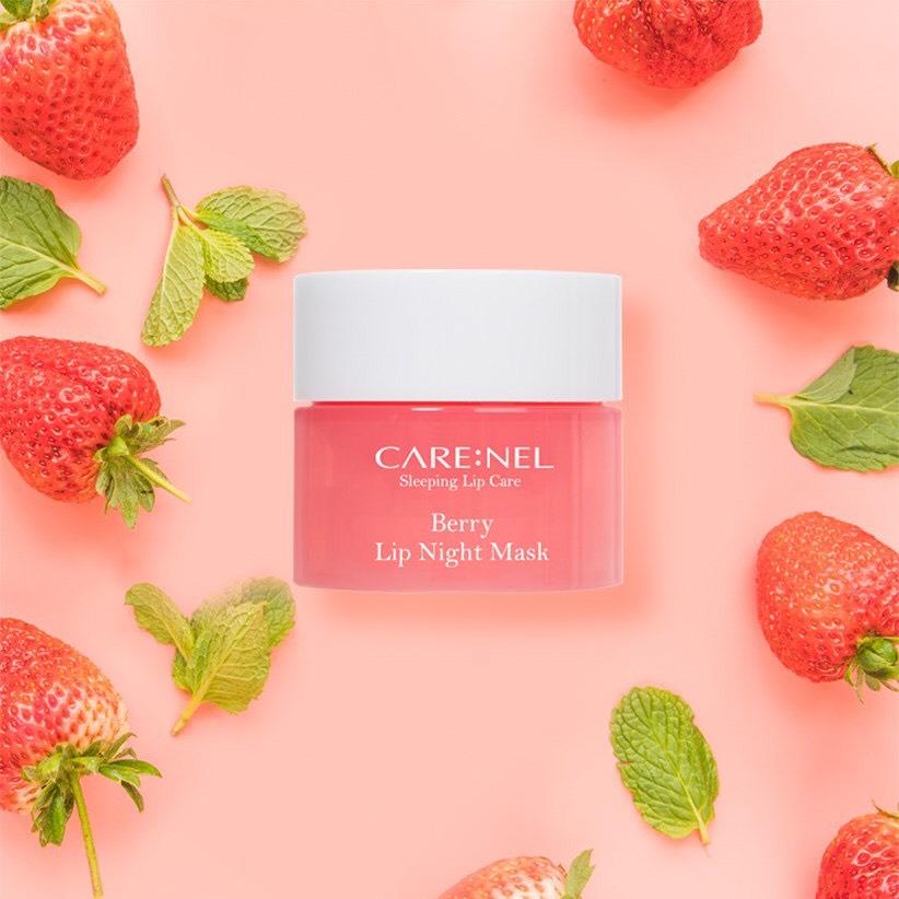 Mặt Nạ Ngủ Môi CARE:NEL Lip Night Mask Berry