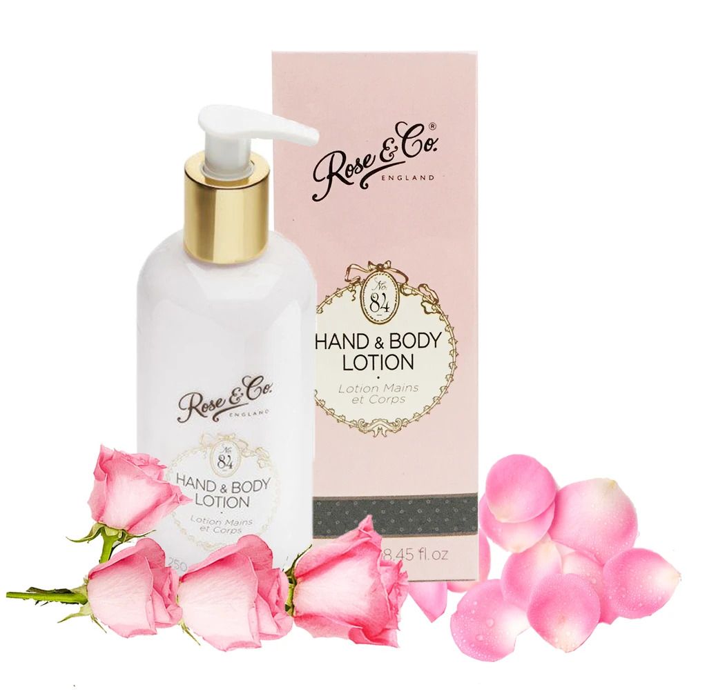 Sữa Dưỡng Thể Patisserie de Bain No.84 Rose & Co. Hand & Body Lotion 250ml