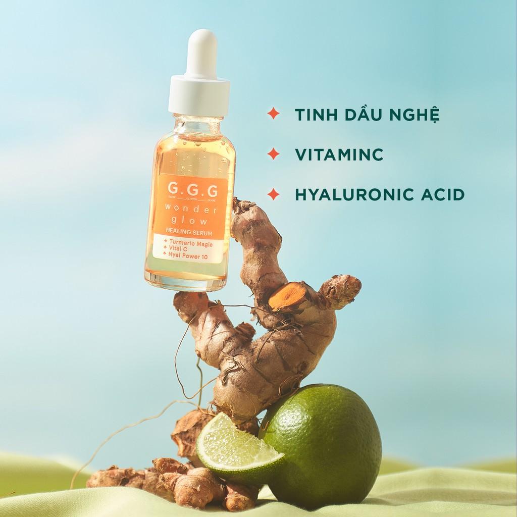 Tinh Chất Hỗ Trợ Mờ Thâm, Ngừa Mụn G.G.G Wonder Glow Healing Serum