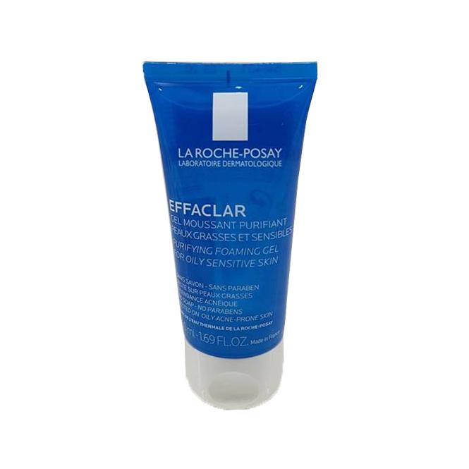 Gel Rửa Mặt Tạo Bọt La Roche-Posay Dành Cho Da Dầu, Nhạy Cảm Purifying Foaming Gel for Oily and Sensitive Skin 50ml